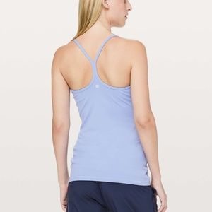 NWT Lululemon Power Y Tank Color: Luon Size: 6